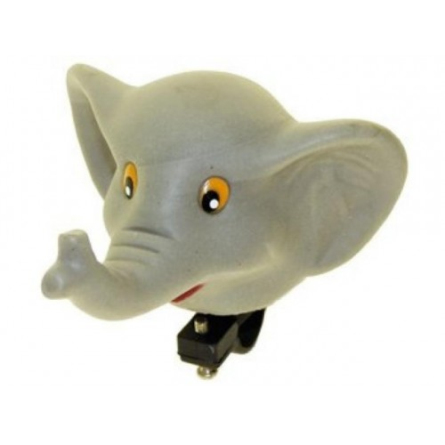 Клаксон Слоненок серый