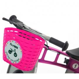 Корзина FirstBike розовая