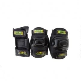 Набор защиты Vinca Sport черный, размер S
