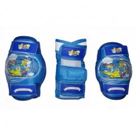 Набор защиты Vinca Sport синий, размер M