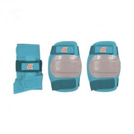 Набор защиты 3 в 1 JR Pad S голубой