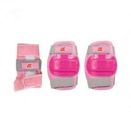 Набор защиты 3 в 1 JR Pad S розовый