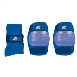 Набор защиты 3 в 1 JR Pad S синий