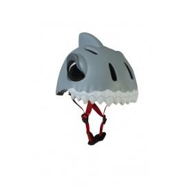 Шлем Crazy Safety (белая акула)