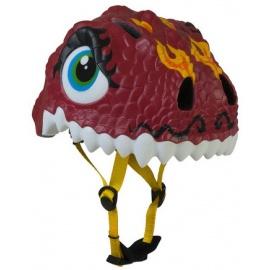 Шлем Crazy Safety (красный дракон)