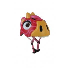 Шлем Crazy Safety (красный жираф)