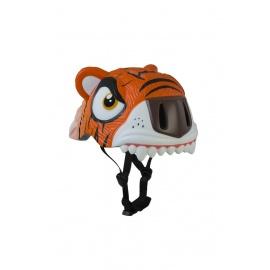Шлем Crazy Safety (оранжевый тигр)