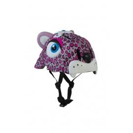 Шлем Crazy Safety (розовый леопард)