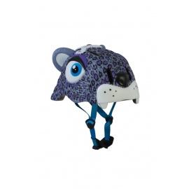 Шлем Crazy Safety (сиреневый леопард)