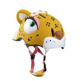 Шлем Crazy Safety (Фиолетовый Леопард)