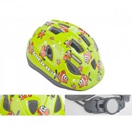 Шлем Mirage AUTHOR зеленый с рыбками