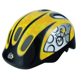 Шлем TOUR DE FRANCE черно-желтый