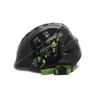 Шлем Vinca Sport Робокоп черный размер 48-52
