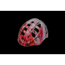 Шлем Runbike красно-белый M