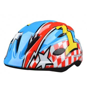 Шлем Runbike красно-синий S