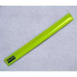 Светоотражающий браслет Vinca sport желтый