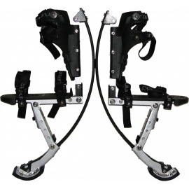Джамперы SkyRunner adult pro black черные 50-70 кг для взрослых