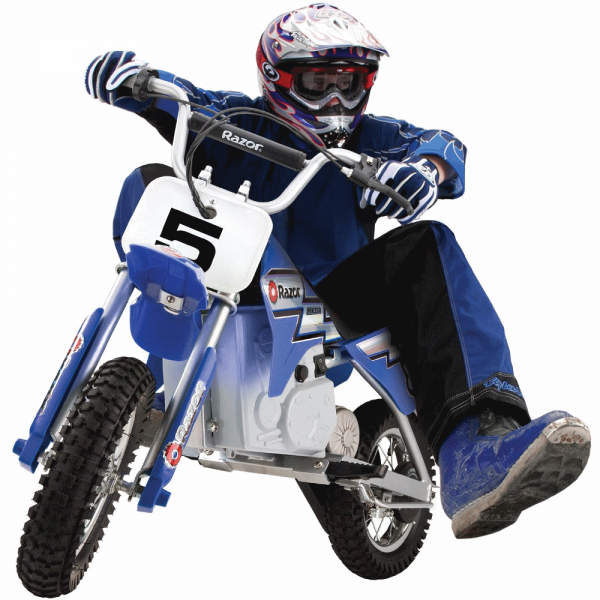 Мотоцикл детский на аккумуляторе Razor MX350