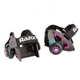 Ролики на обувь Razor Jetts пурпурные