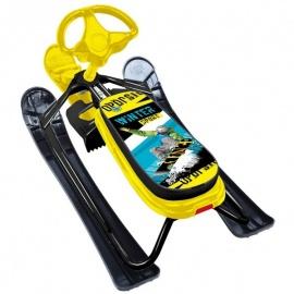 Снегокат Ника Детям Ника-кросс Winter sport желтый