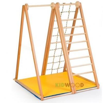 Спортивно-игровой уголок Kidwood Берёзка базовая комплектация