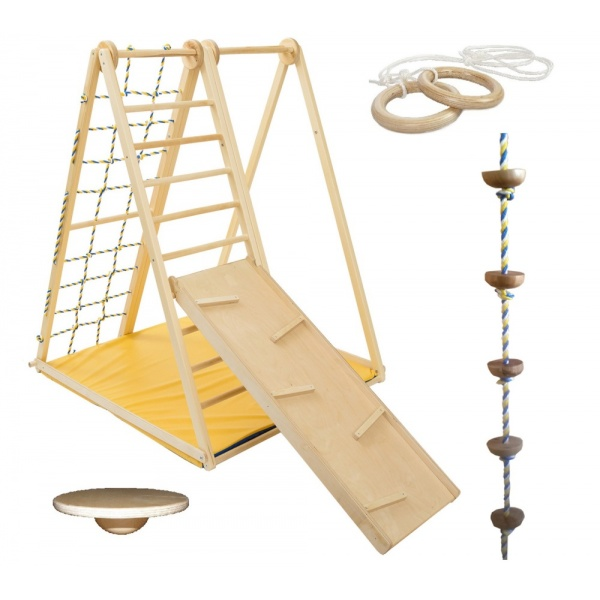 Детский спорткомплекс Kidwood Берёзка комплектация Игра