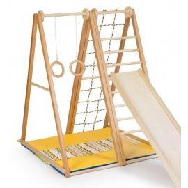 Детский спорткомплекс Kidwood Берёзка полная комплектация