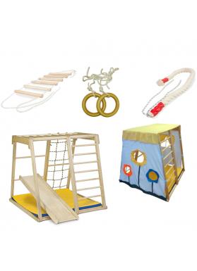 Детский спортивный комплекс ДСК Kidwood Парус + Стартовый набор аксессуаров