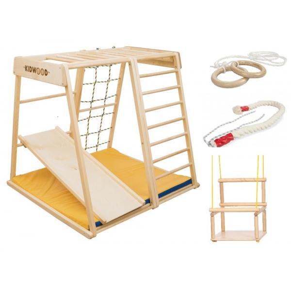 Детский спортивный комплекс ДСК Kidwood Парус комплектация Малыш