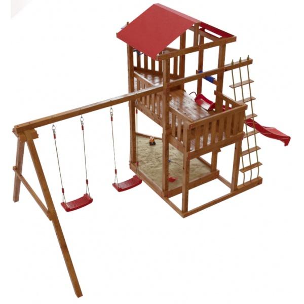 Детский спортивный комплекс-корабль для дачи Самсон Ассоль