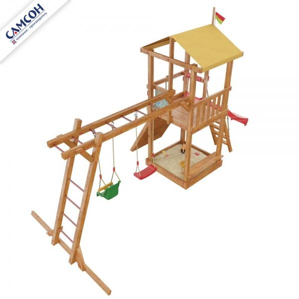 Детский спортивный комплекс для дачи Самсон Мадагаскар