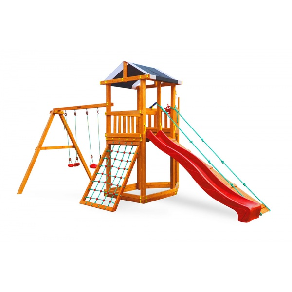 Детский спортивный комплекс-корабль для дачи Самсон Баунти