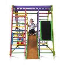 Детский спорткомплекс для малышей SportWood Акварелька