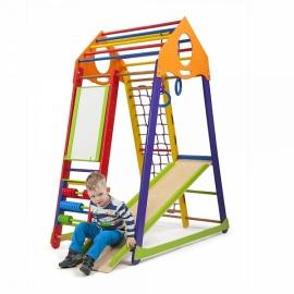 Детский спорткомплекс для малышей SportWood BambinoWood Color Plus