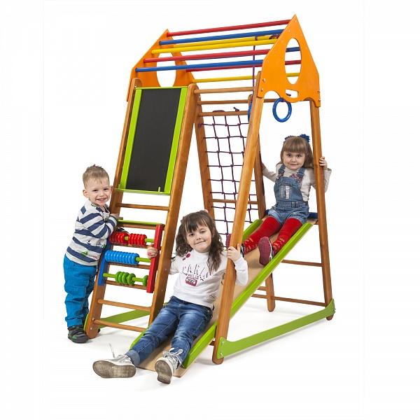 Детский спорткомплекс для малышей SportWood BambinoWood Plus