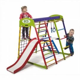 Спорткомплекс напольный для малышей SportWood Юнга Plus 2