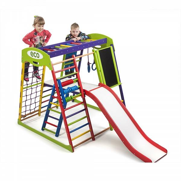 Детский спортивный комплекс напольный SportWood Юнга Plus 3