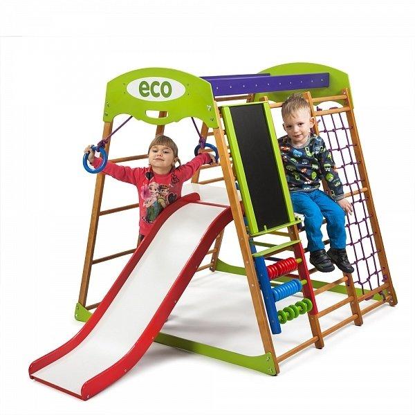 Детский спортивный комплекс напольный SportWood Карамелька Plus 3