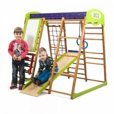 Детский спорткомплекс для малышей SportWood Карамелька