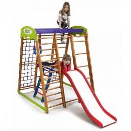 Спорткомплекс напольный для малышей SportWood Карапуз Plus 2