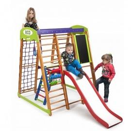 Детский спортивный комплекс напольный SportWood Карапуз Plus 3