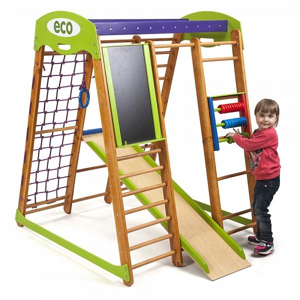 Детский спорткомплекс для малышей SportWood Карапуз