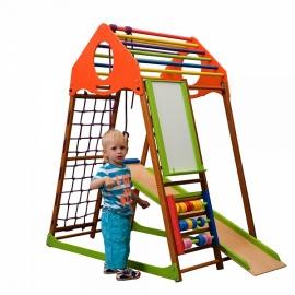 Детский спорткомплекс для малышей SportBaby KindWood Plus