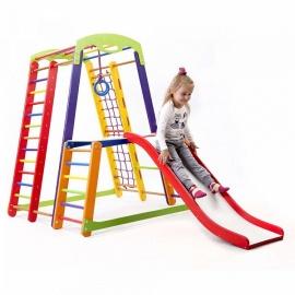 Детский напольный спорткомплекс для малышей SportBaby Кроха-1 Plus 1-1
