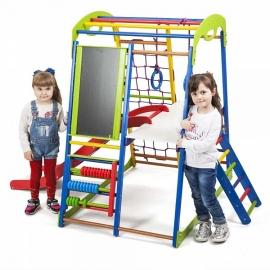 Детский спортивный комплекс напольный SportWood Plus 3