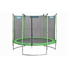 Батут Hudora Fitness Trampoline 300 см зеленый