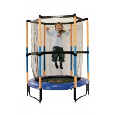 Батут Hudora Safety trampoline Jump in 140 см оранжевый