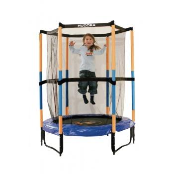 Батут Hudora Safety trampoline Jump in 140 см оранжевый