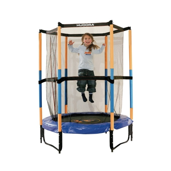 Батут Hudora Safety trampoline Jump in 140 см