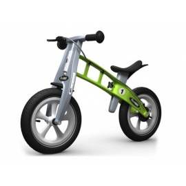 Беговел FirstBike Racing зеленый